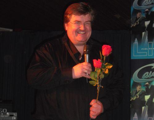 Kenneth Herrgård med rosor