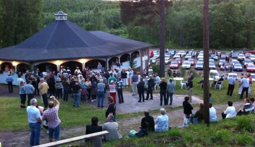 Hasslerudsparken Foto: Vi som kommer ihåg Hasslerudsparken/Facebook