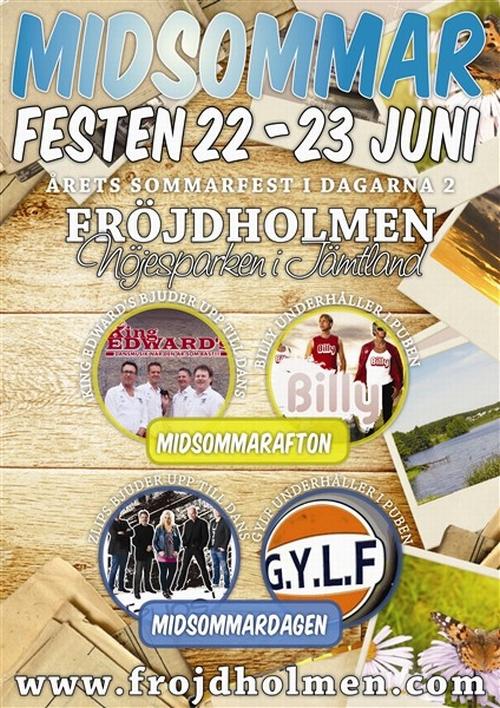 Midsommarfest på Fröjdholmen