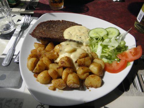 God mat på restaurangen