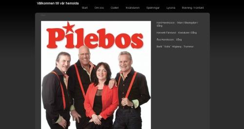 Pilebos orkester med ny hemsida