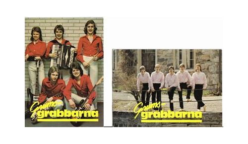 Blandade bilder på The Grabbs och Grumsgrabbarna