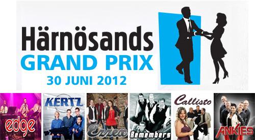 Dansbanden som gör upp i Härnösands Grand Prix