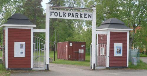Entrén till parken