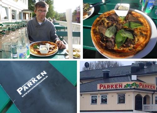 God Pizza vid Brunnsparken