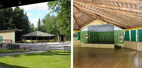 Dansbanan i Vretstorpsparken