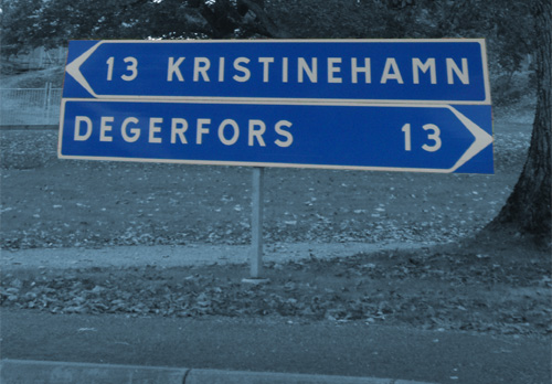 Mitt i mellan ligger Björneborg