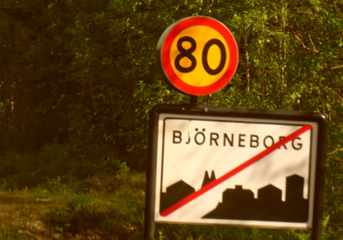 Lämnar Björneborg
