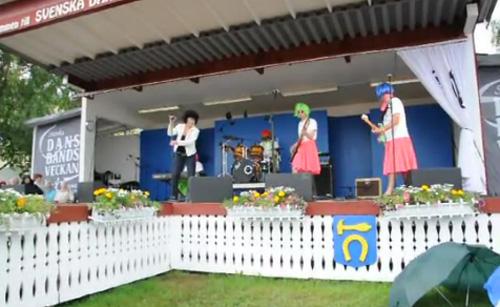 Från Drifters scenshow Foto: Danslogen/Youtube