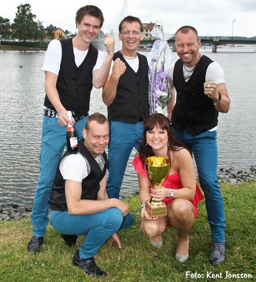 Glada vinnare av Härnösand Grand Prix 2011 Foto: Kent Jonsson / FJL