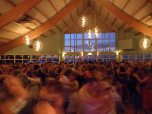Dansen i full gång i Mariestad