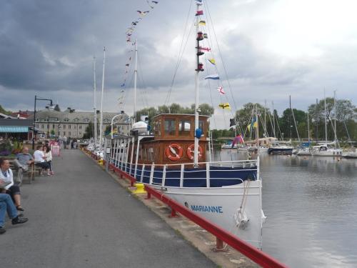 Hamnen i Mariestad
