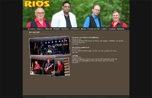 Rios hemsida