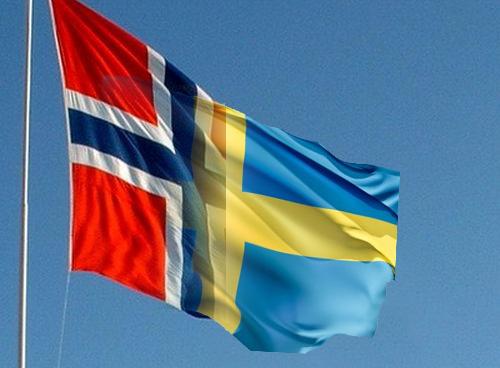Norsksvensk flagga