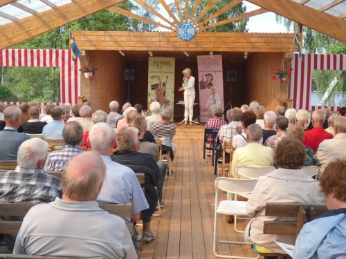 Publik på Vallsjöbaden