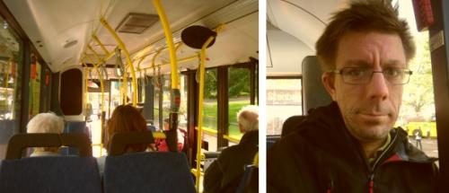 Jag åker buss