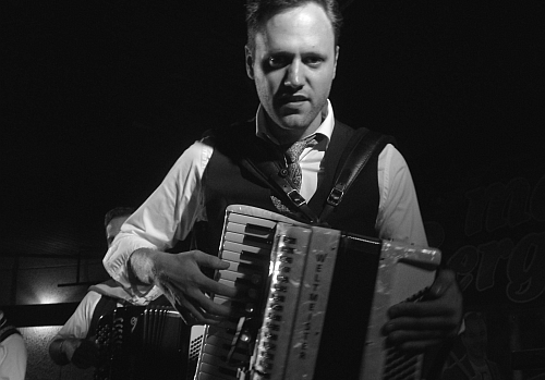 Linus Lindholm i Mats Bergmans