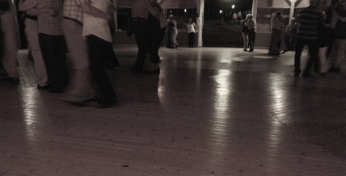 Dansgolvet i Degerforsparken