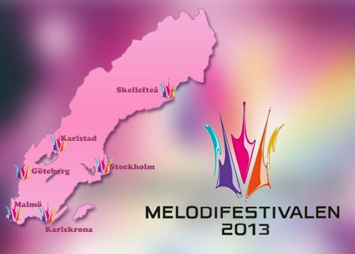 Melodifestivalstäder