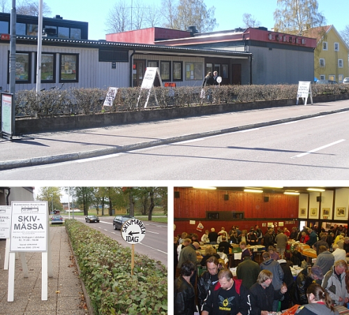 Skivmässan i Björneborg