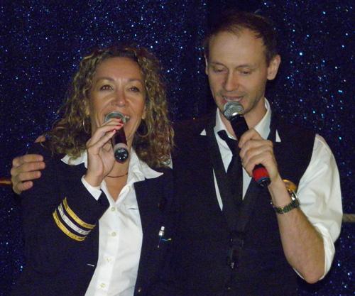Yvette Palm och Daniel Yngve