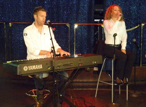 Jesper Andersson och Yvette Palm