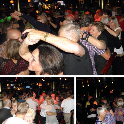 Danspublik på Birka