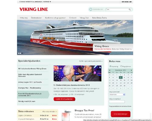Viking Line i ny kostym