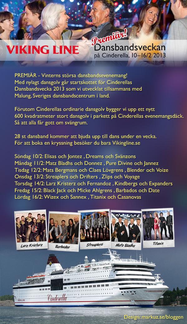 Cinderellas Dansbandsvecka 2013