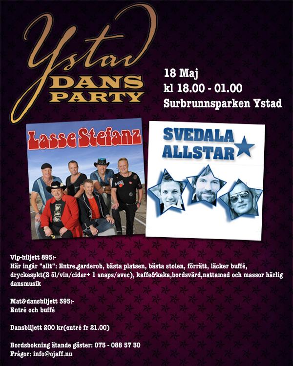 Dansparty i Ystad