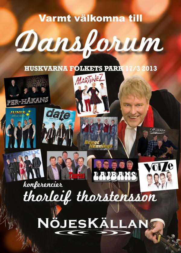Dags för Dansforum i Huskvarna