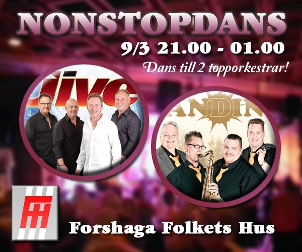 Nonstop Dans i Forshaga 9 Mars