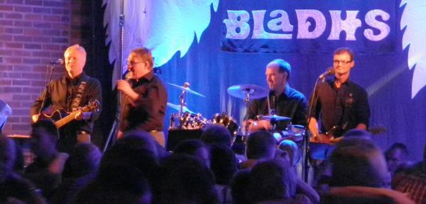Matz Bladhs på scenen