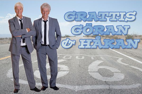 Göran & Håkan 70 år