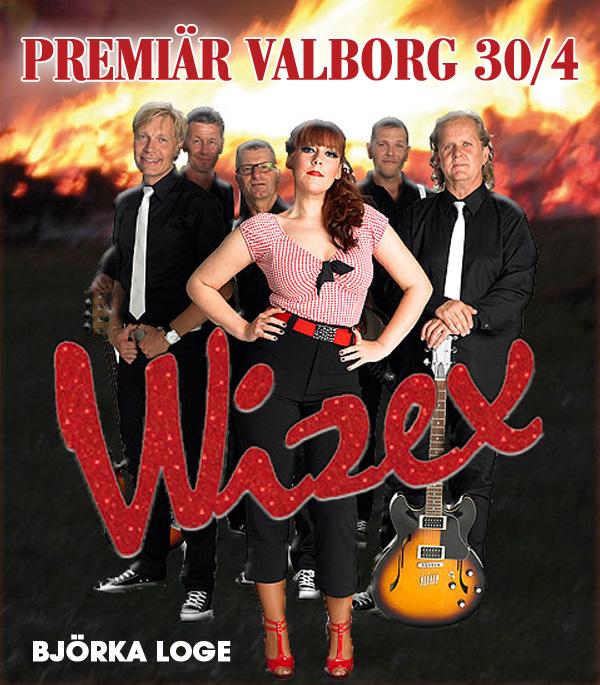 Wizex premiärspelar på Björka Loge
