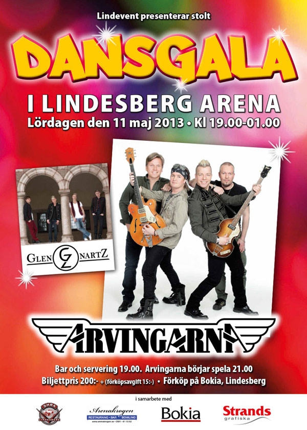 Dansgala i Lindesberg