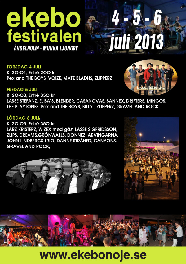 Dansbandsfestivalen Ekebo 2013