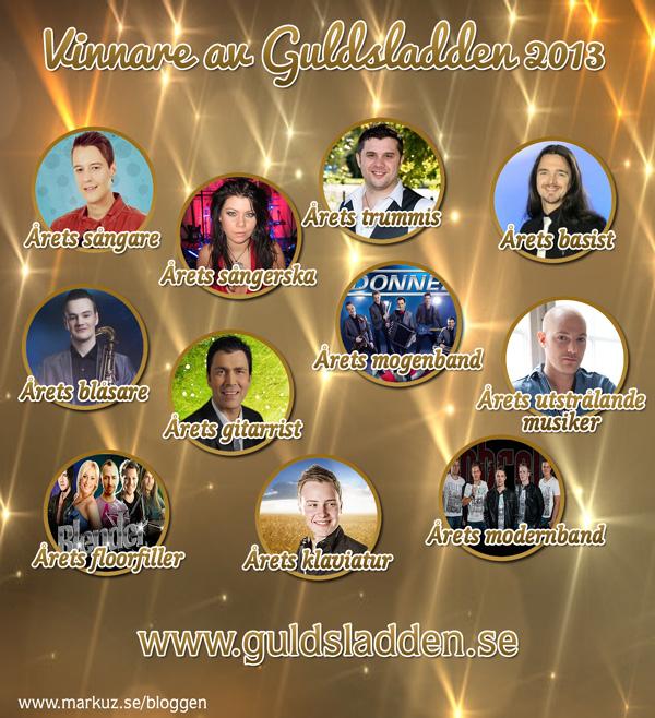 Guldsladdens vinnare 2013