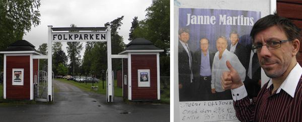 Tummen upp för Janne Martins i Degerforsparken
