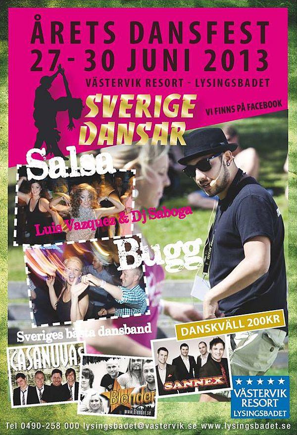 Sverige dansar