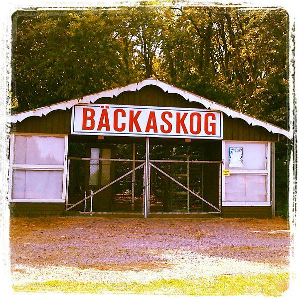 Bäckaskog dansställe i Jonstorp Skåne