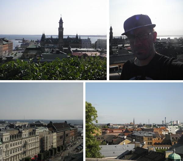 Utsikt över Helsingborg