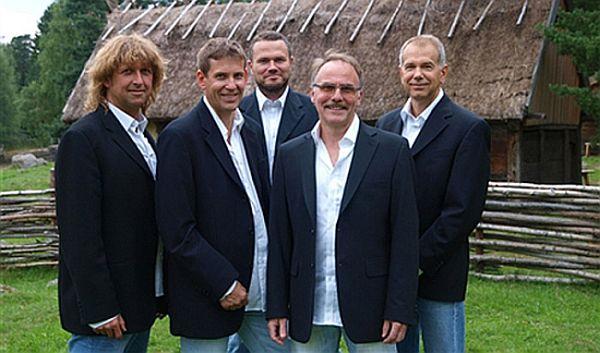 Janne Martins då de var fem medlemmar