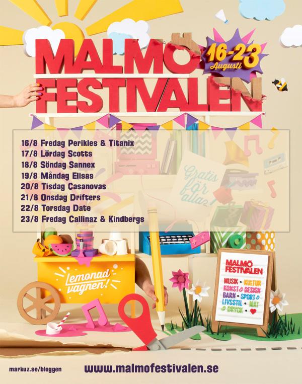 Malmöfestivalen med mycket dans