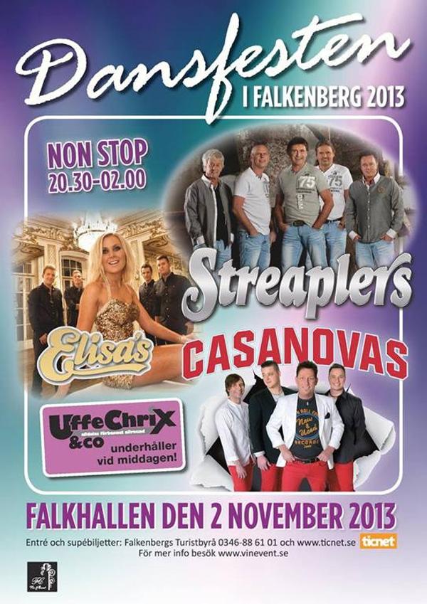 Dansfesten i Falkenberg 2013