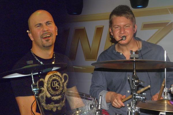 Niclas till vänster och Christoffer till höger. Foto: Markus Redman