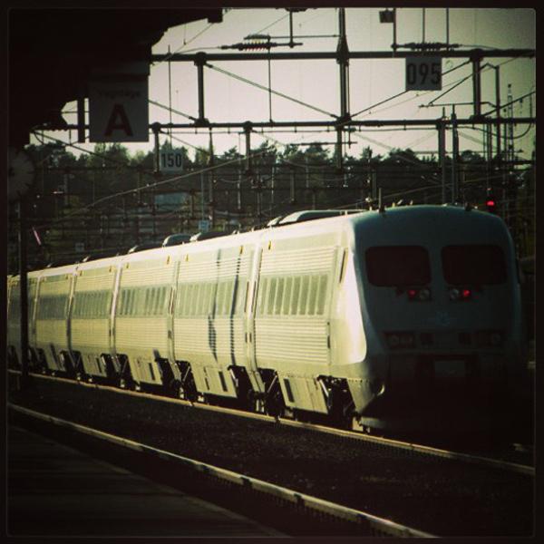 Tåget mot Stockholm