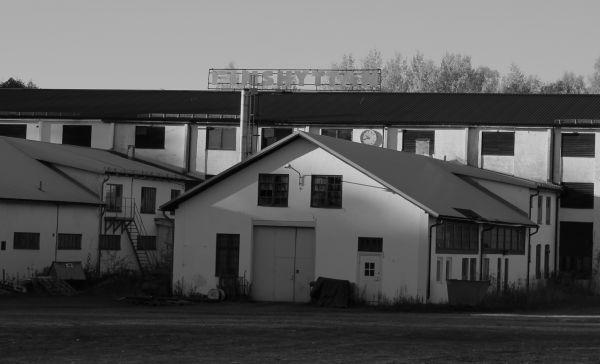 Finnshyttans gamla industrilokaler