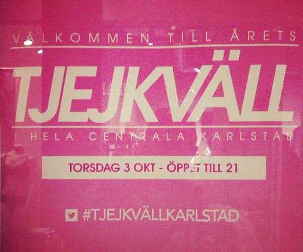 Tjejkväll i Karlstad