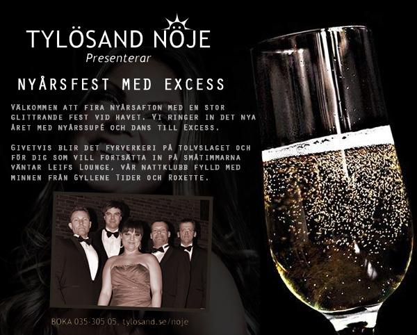 fira Nyår med Excess på Hotell Tylösand